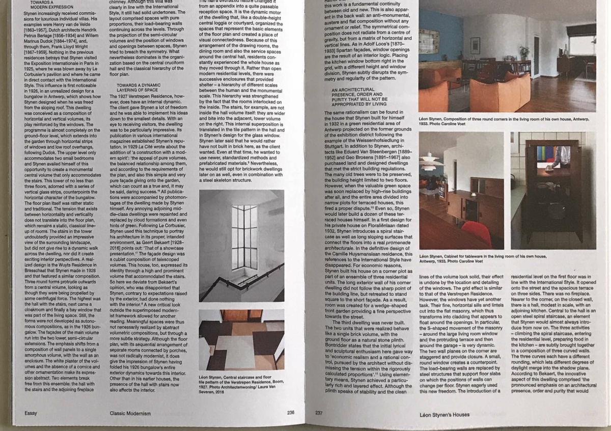 2018 1011 CVOET Leon Stynen Classic Modernism Pagina 2